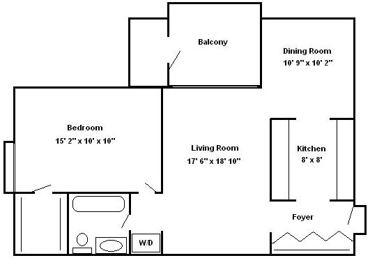 Floor Plans 2 Bedroom 1 House Design